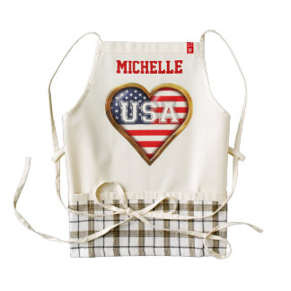 American Heart Zazzle HEART Apron