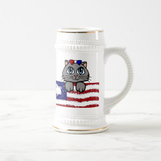 American Heartland Kitty Beer Stein