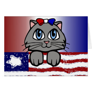 American Heartland Kitty Card