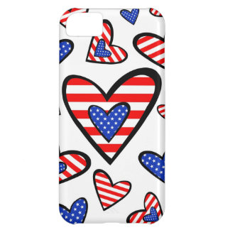 American Hearts iPhone 5C Covers