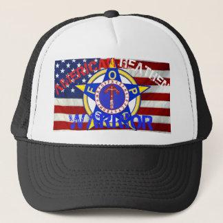American Heathen Warrior--Police Trucker Hat