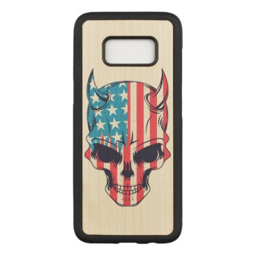 USA Themed American Hellion Carved Samsung Galaxy S8 Case