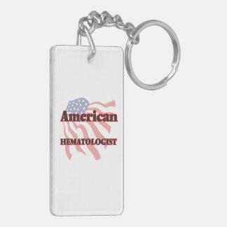 American Hematologist Double-Sided Rectangular Acrylic Keychain