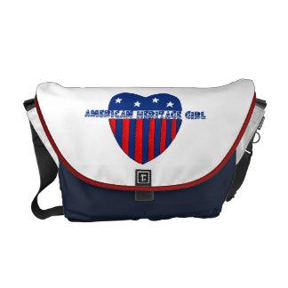 American Heritage Girl Patriotic Heart Commuter Bags