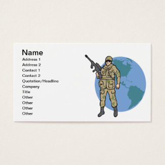 American Hero Business Card
