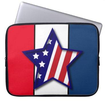 American Hero Computer Sleeve