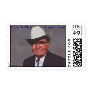 American Hero, Earl L. McClain Stamps