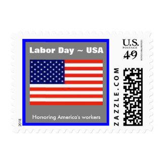 American Hero Labor Day Postage