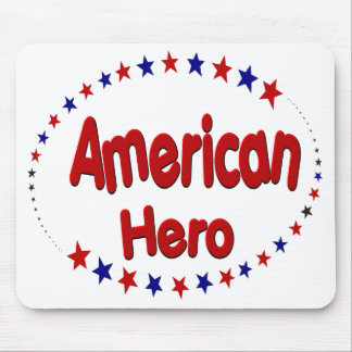 American Hero Mousepad