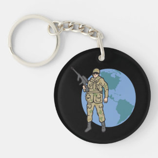 American Hero png Acrylic Key Chains