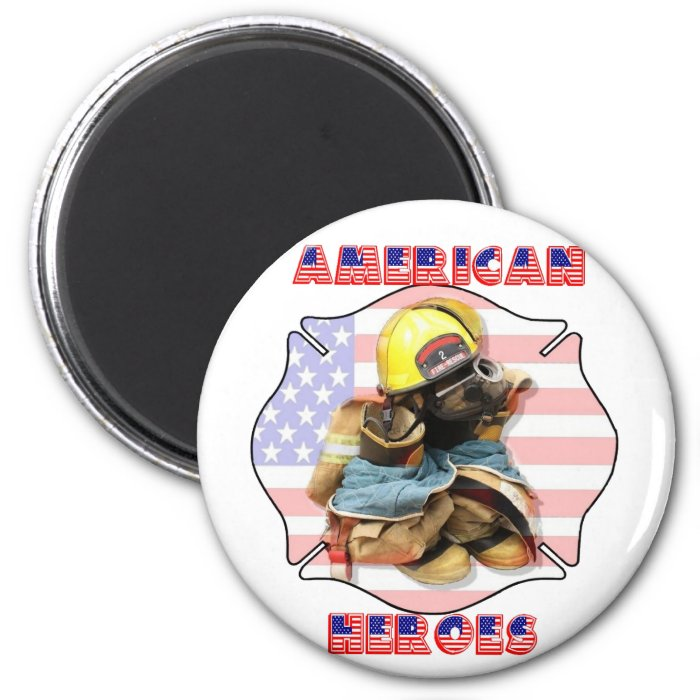 AMERICAN HEROES- 2 INCH ROUND MAGNET