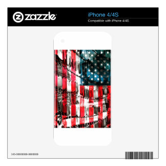 American Heroes iPhone 4S Decal
