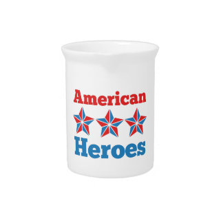 American Heroes Drink Pitchers