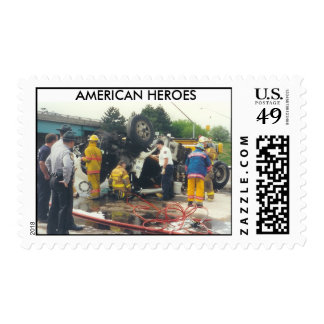 AMERICAN HEROES - postage stamps