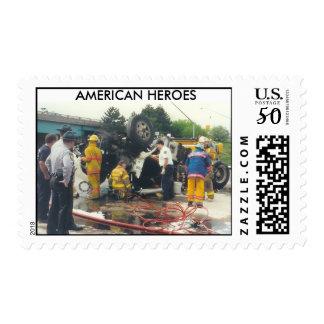AMERICAN HEROES - postage stamps