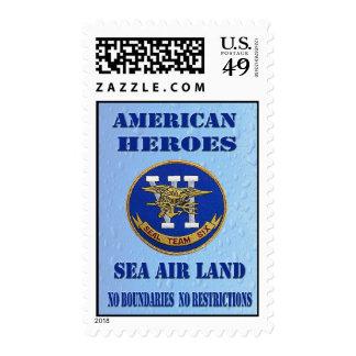 American Heroes Seal Team Six Postage Stamps