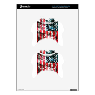 American Heroes Xbox 360 Controller Decal