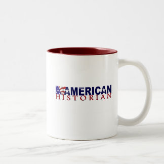 American Historian Two-Tone Coffee Mug