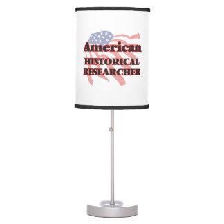 American Historical Researcher Desk Lamps
