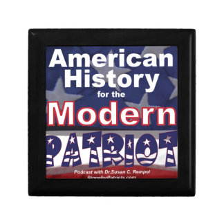 American History for the Modern Patriot Keepsake Box