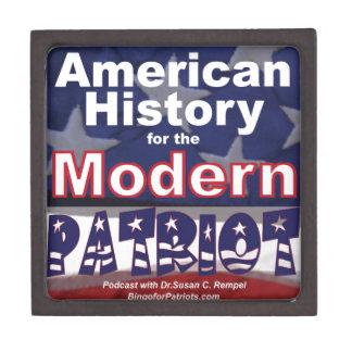 American History for the Modern Patriot Keepsake Box