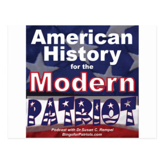 American History for the Modern Patriot Postcards