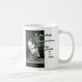 American History One Family at a Time Coffee Mug