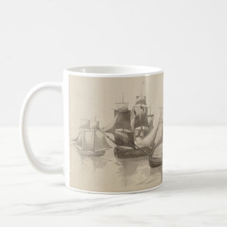 American History - Sailing from Halifax Coffee Mug