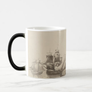 American History - Sailing from Halifax Magic Mug