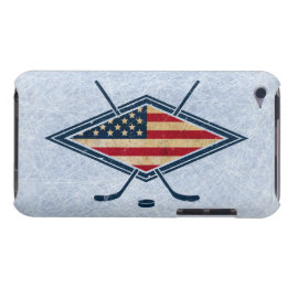 American Hockey Flag Logo iPod Touch Cover