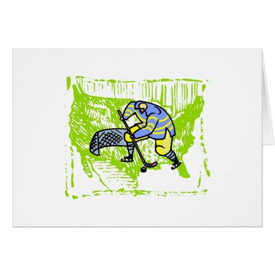 American Hockey Player Card