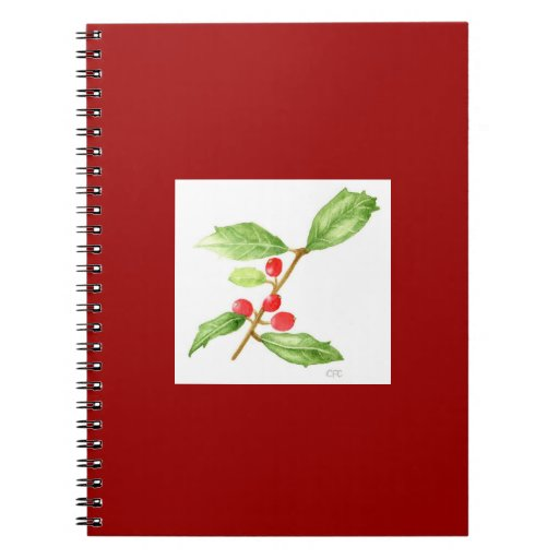 American Holly Notebook