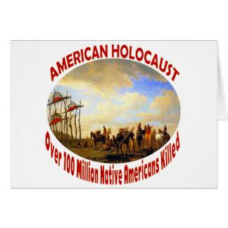 American Holocaust Greeting Card