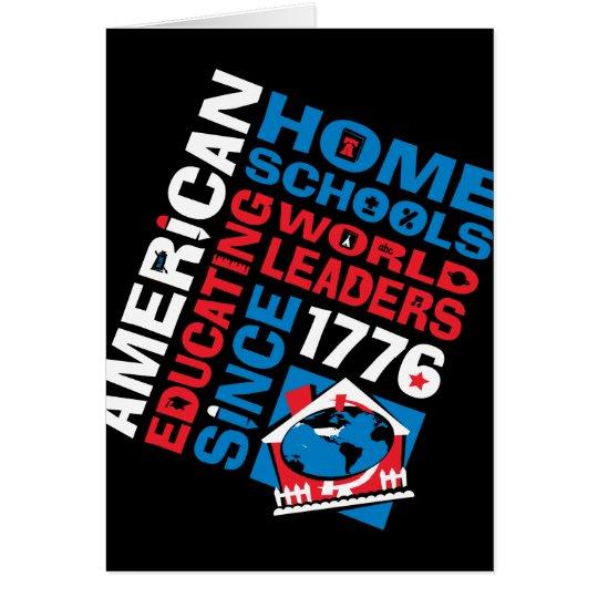 American Home Schools Card