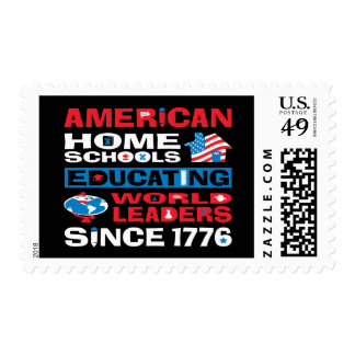American Home Schools Postage Stamps