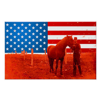 American Horse Poster