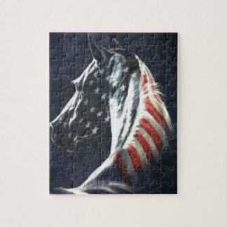 American Horse Puzzle