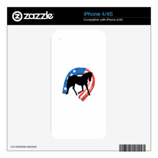 AMERICAN HORSE SHOE iPhone 4 SKIN