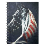 American Horse Spiral Notebook