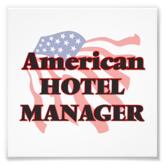 American Hotel Manager Photo Print