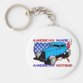 American Hotrod Chopped Keychain