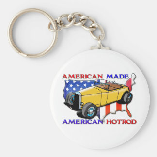 American Hotrod Keychain