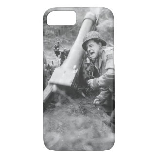 American howitzers shell German_War image iPhone 8/7 Case