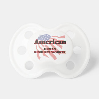 American Human Resource Worker BooginHead Pacifier