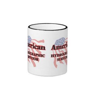 American Hydrographic Surveyor Ringer Coffee Mug