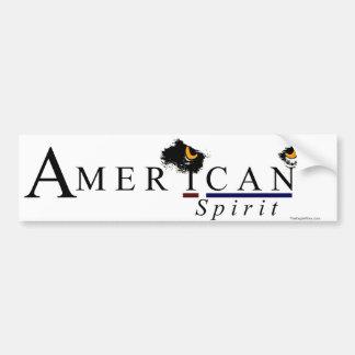 """American """"I CAN"""" Spirit Car Bumper Sticker"""
