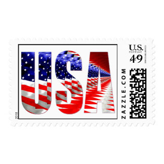 american, I Vote For America Postage