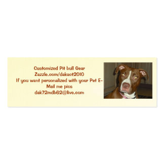 American Icon APBT LOVE Business Cards