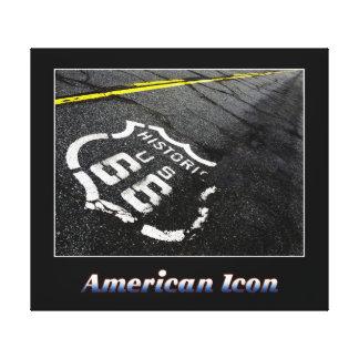 American Icon Canvas Print