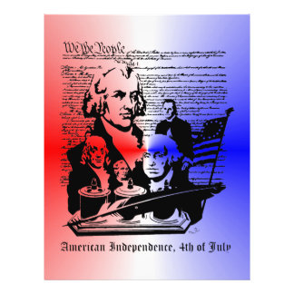 American Independence Day, 4th of July  Flyer